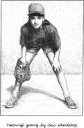 10 year old Kristy shortshop in softball
