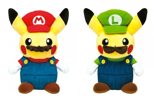 Mario Pikachu Pokemon