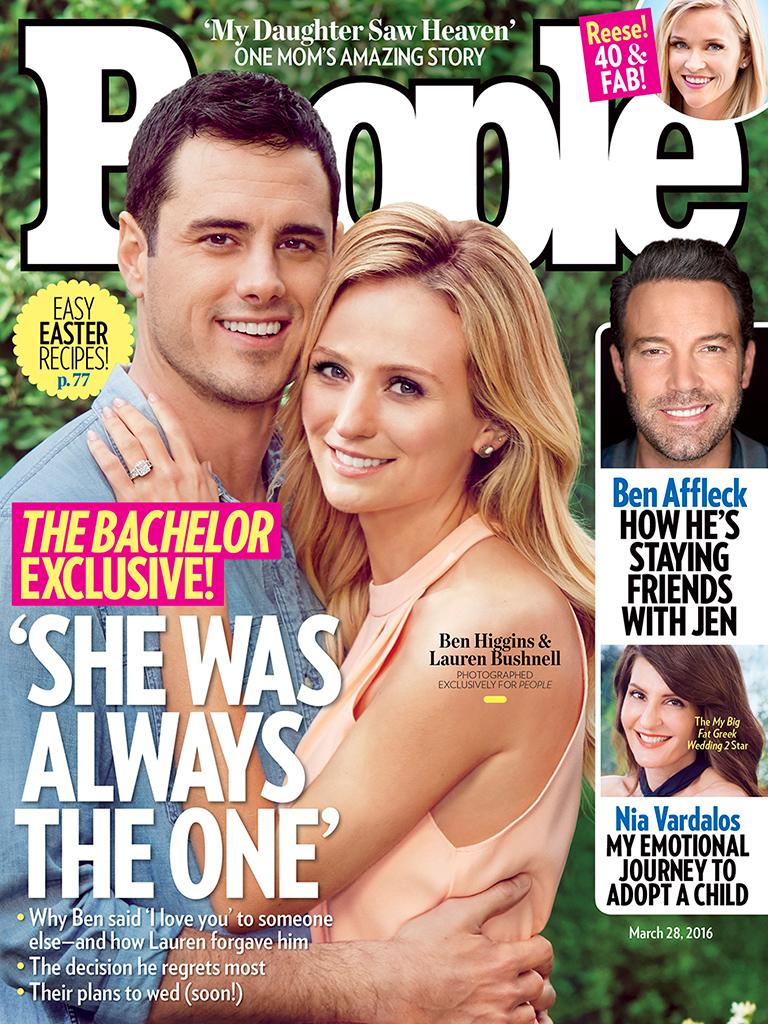 Ben And Lauren People Cover