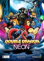 Double Dragon Neon promotional poster