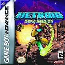 Metroid -- Zero Mission (box art)