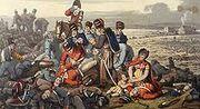 Waterloo aftermath