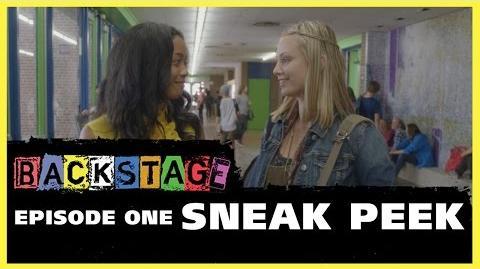 Backstage – Episode One Sneak Peek