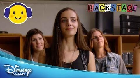 Backstage Bianca's Inspirational Speech Official Disney Channel UK