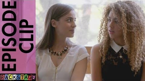 Backstage Season 2 Episode 22 Clip - Scarlett and Bianca's Talk About First Kisses