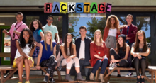 Backstage cast