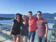 Mckenzie, Alyssa, Josh and Colin
