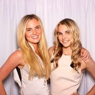 Alyssa and Madison
