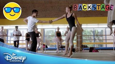 Backstage Sasha and Carly Dance Routine Official Disney Channel UK