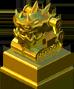 Golden D.A.V.E. Statue