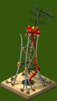 Radio Tower Damaged