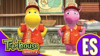 Los Backyardigans- Chicken Itza Pizza