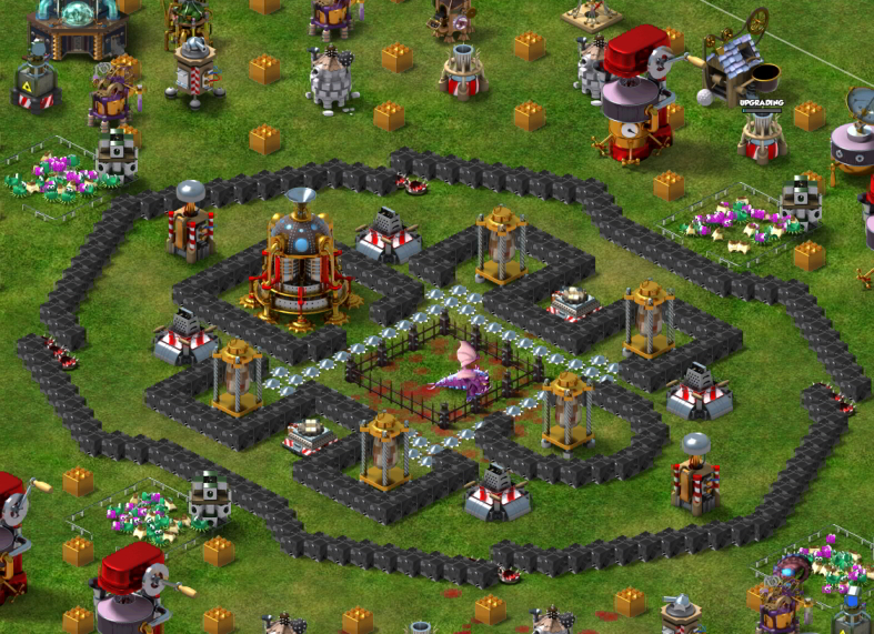 Backyard Monsters Best Base strategies to building a strong base | backyard monsters wiki