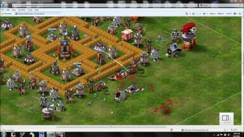 Backyard Monsters - Quadrant Base Defense Part 1 - WM DAVE PX