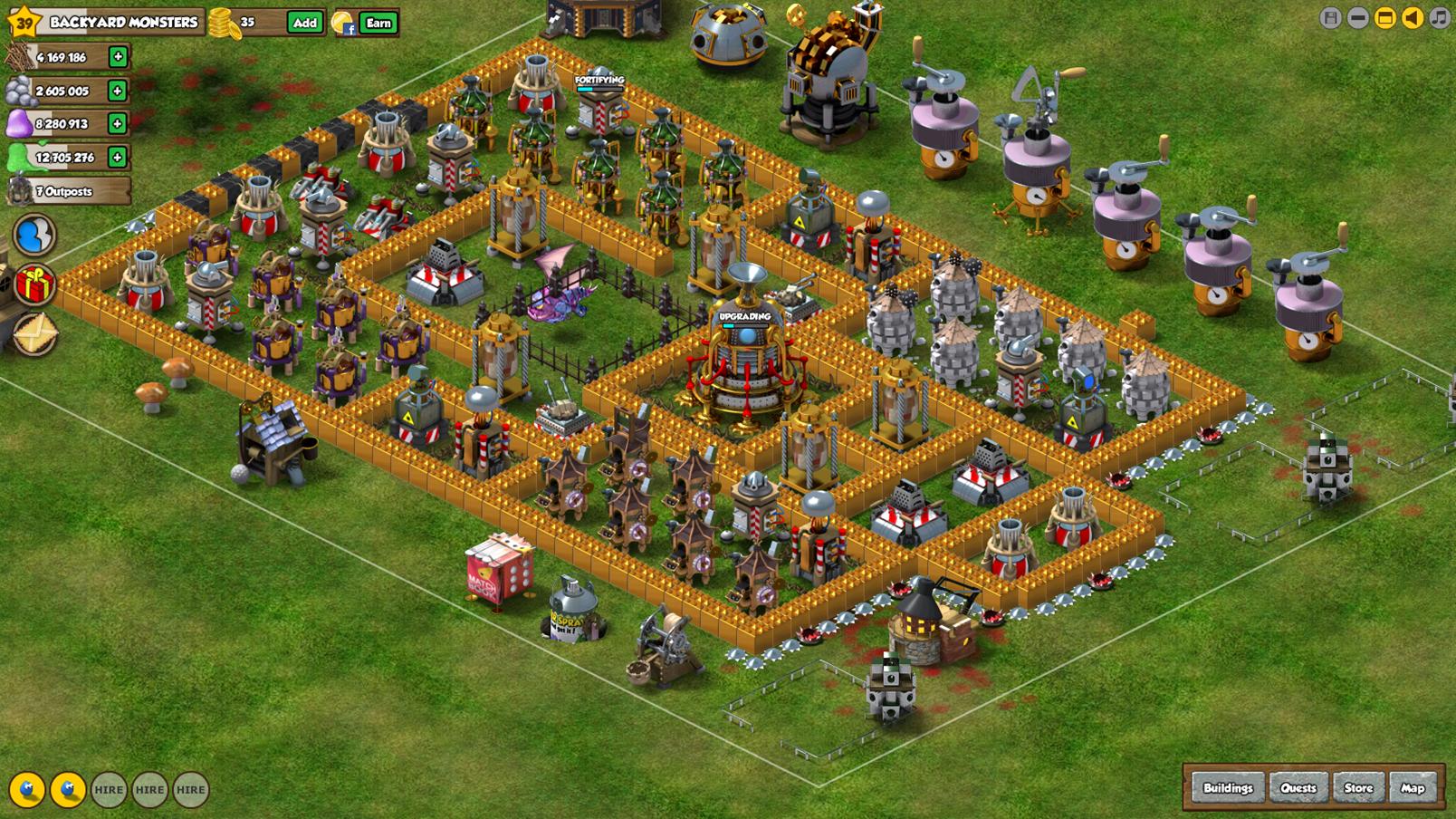 Backyard Monsters Best Base image - th best cell base ever | backyard monsters wiki | fandom