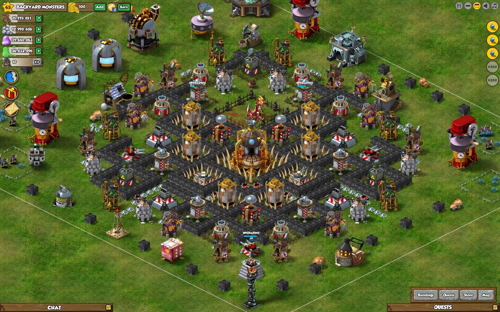 Base Of Black Victory