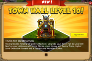 Level 10 Town Hall - First Ad
