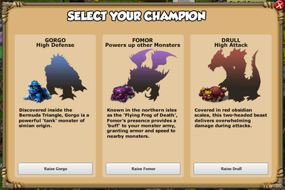 Select Your Champion