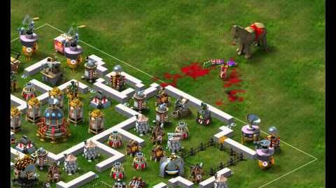 Backyard Monsters - Legionnaire Attack