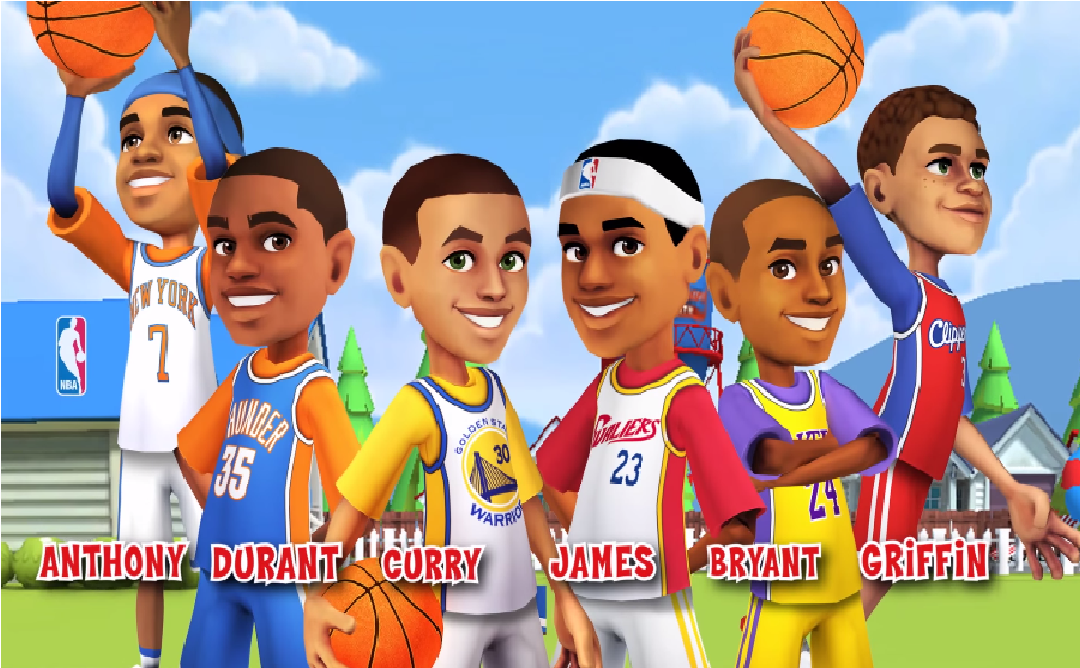 Backyard Sports PowerUps NBA Basketball 2015