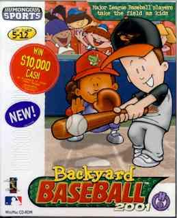 Backyard Baseball 2001 Backyard Sports Wiki Fandom Powered By Wikia