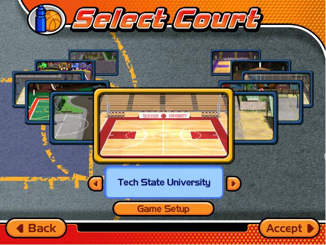 Merveilleux Tech State University As Seen In Backyard Basketball 2004