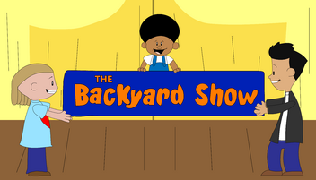 The Backyard Show Title card