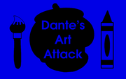 Dante's Art Attack (Title Card)