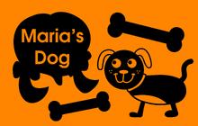 Maria's Dog (Title Card)