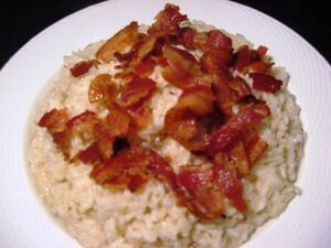 Rice with Bacon 03
