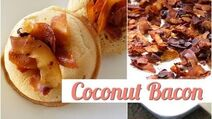 How to Make Coconut Bacon Vegan-1