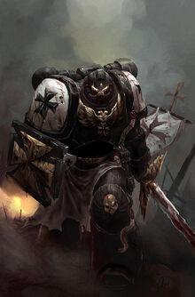 The Black Templar by kingmong