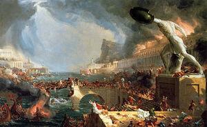The-course-of-empire-destruction-1836