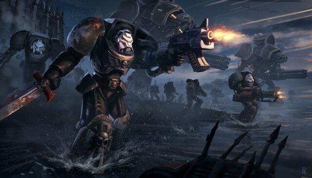 File:Warhammer 40k black templars terminator tribute by pierreloyvet-d6nye0x.jpg