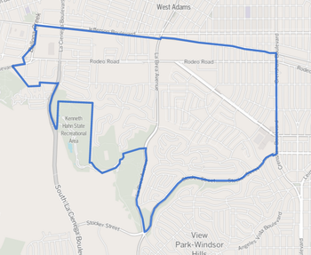 Bad Areas Of Los Angeles Map.Crenshaw Los Angeles Bad Girls Club Wiki Fandom Powered By Wikia