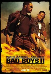 Bad boys two movie poster
