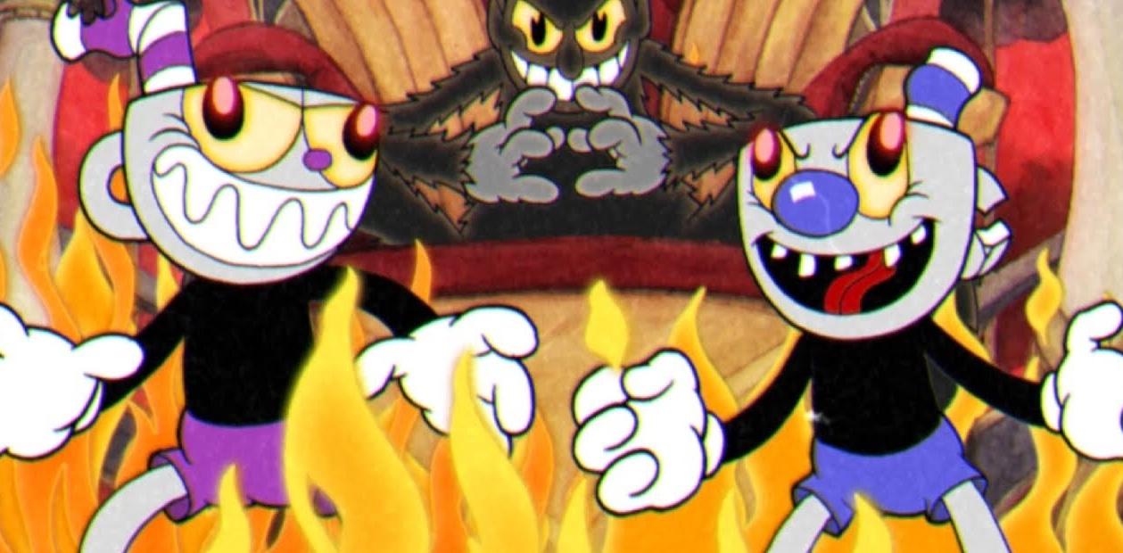Demon Cuphead and Mugman BadEndFriends Wikia FANDOM