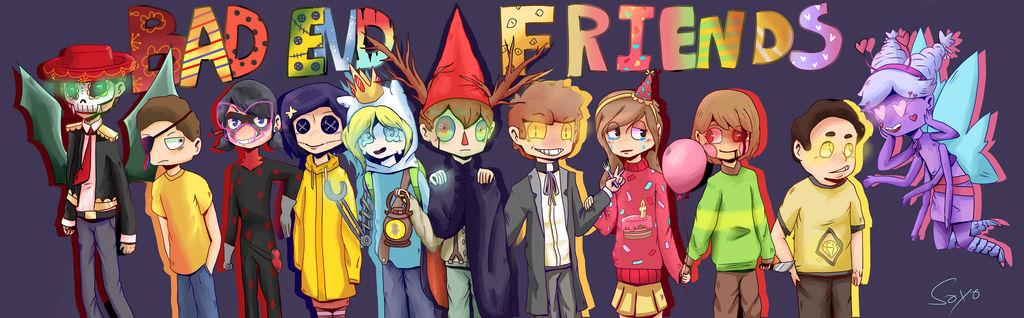 Characters Badendfriends Wikia Fandom