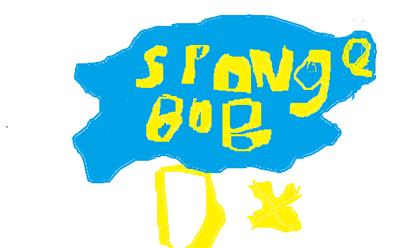 SpongeBob DX Logo 2nd revision