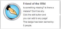 Friend of the Wiki (un-hover)