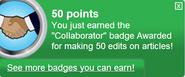 Collaborator (earned)