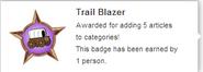 Trail Blazer (earned hover)
