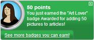 Art Lover (earned)