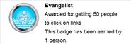 Evangelist (earned hover)