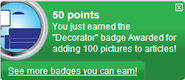 Decorator (earned)