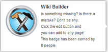 Wiki Builder (un-hover)