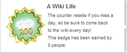 A Wiki Life (req hover)