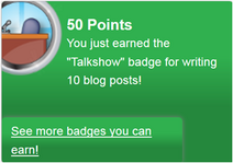 Talkshow (earned)