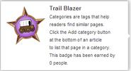 Trail Blazer (un-hover)