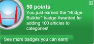 Bridge Builder (earned)